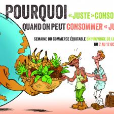 Carte postale Semaine Commerce Equitable